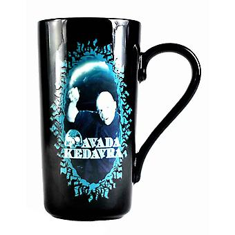 Harry Potter Mug Voldemort Avada Kedavra heat changing Latte mug Official Boxed
