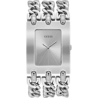 GUESS - ساعة اليد - النساء - W1274L1 - هيفي ميتال