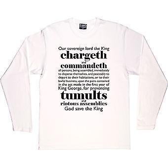 The Riot Act T-Shirt à manches longues