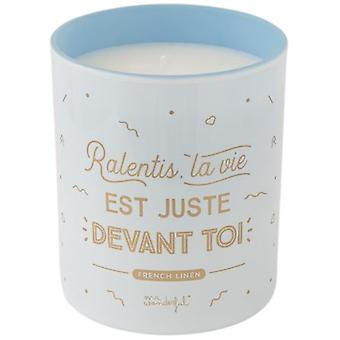 Mr. Wonderful Candle Ralentis Life Is Right Before You
