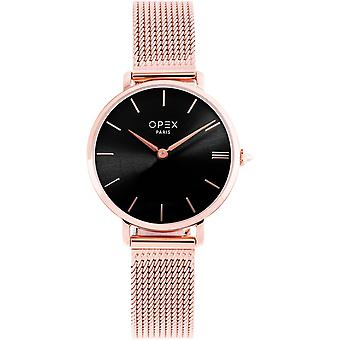Opex OPW030 Watch - ROTONDE Dor Rose Bo Tier Steel Women's Steel Bracelet