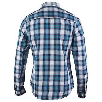 CAT Lifestyle Mens Delavan Long Sleeve Plaid Shirt