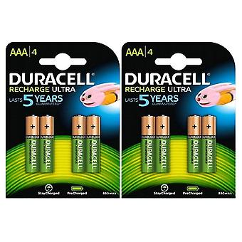 Duracell AAA 850 mAh Rechargeable Ultra Batteries NiMH ACCU LR03 HR03 Phone