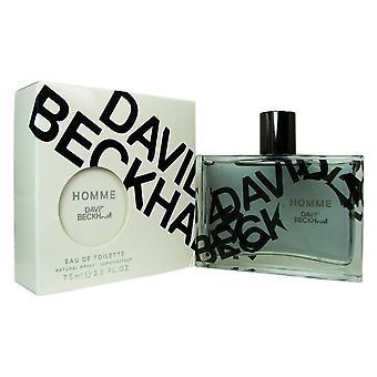 Homme for men by david beckham 2.5 oz eau de toilette spray