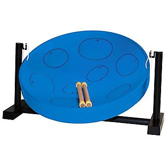 Jumbie Jam Table Top Steel Pan - Blue