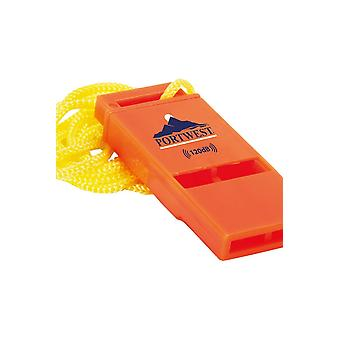 Portwest slimline 120db safety whistle pa99
