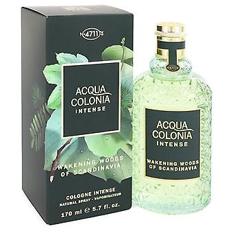 4711 acqua colonia wakening woods eau de cologne intense spray (unisex) av maurer & wirtz 549013 169 ml
