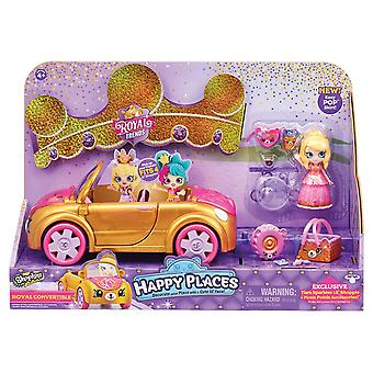 Shopkins Happy Places Royal Trends Car Playset