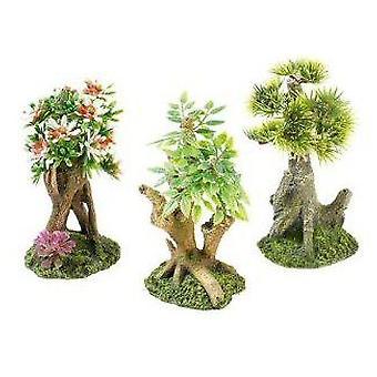 Classic For Pets Mini Bonsai Assort   6pcs (Fish , Decoration , Ornaments)