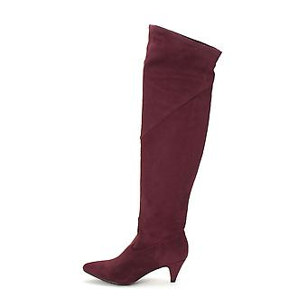 Impo Womens Edeva Fabric Pointed Toe Knee High Fashion Boots
