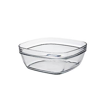 Duralex Lys Square Stacking Bowl, 20cm