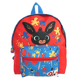 Bing Paint With Bing Mini Roxy Pre School Backpack Red