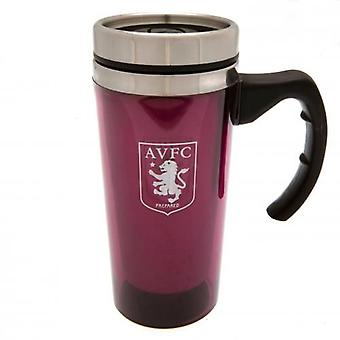 Aston Villa Aluminium Travel Mug