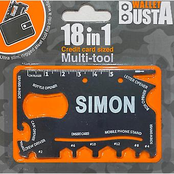 Carte de débit multitool multitool SIMON carte de débit