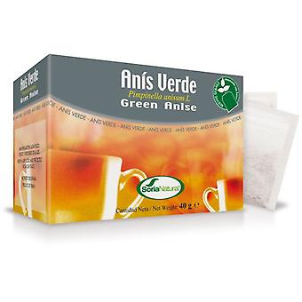 Soria Natural Green Aniseed Infusion 20 Filters