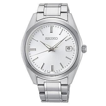 Seiko Uhren Sur307p1 Silber Edelstahl Herren's Uhr
