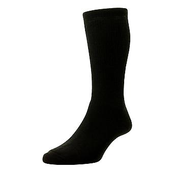 HJ Hall Wool Diabetic Socks - Black