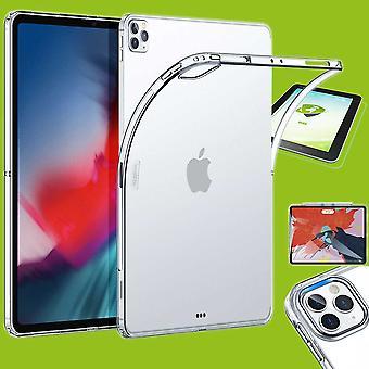 Für Apple iPad Pro 11.0 2020 Transparent Hülle Tablet Tasche Cover + H9 Hart Glas