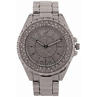 Watch Jean Bellecour Big City Dreams A0267-10 - Grey Women's Crystals Watch