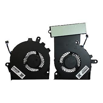 Ventilador portátil de repuesto HP Omen 15-ce027nd (par)
