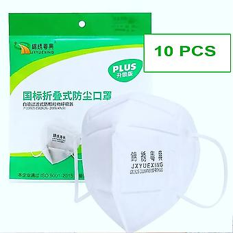 10 pieces - ffP2 face mask GB2626 2006 - disposable