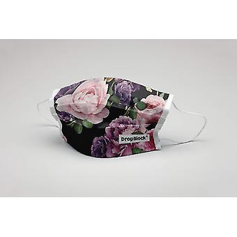 Maska do ust Kwiaty Le Fleur Kwiaty Zmywalna Maska ochronna ökotex