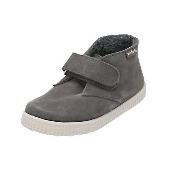 Victoria Shoes SAFARI SERRAJE VELCRO Kids Boys Sneaker Brown Gym Shoes