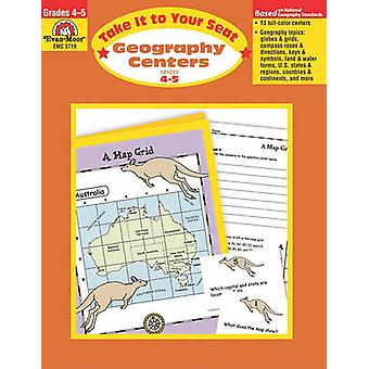 Geography Centers Grades 4-5 by Evan-Moor Educational Publishers - 97
