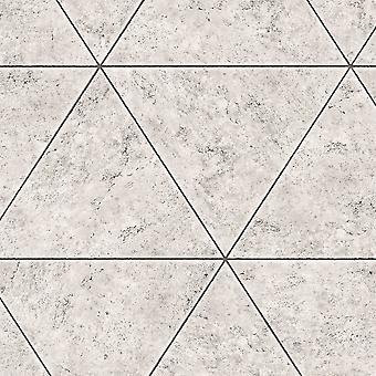 Marmo Pietra Piastrella Geometrico Carta Grigio Fine Decor FD41760