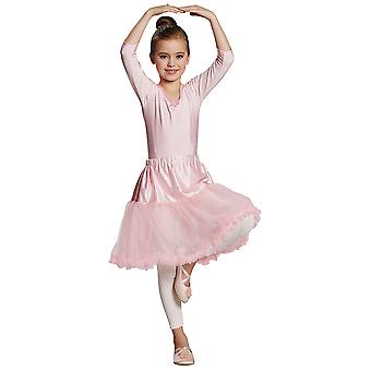 Tüllrock rosa Kinder Kostüm Mädchen Rock Karneval