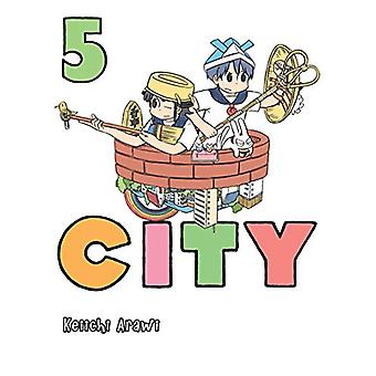 City 5 by Keiichi Arawi - 9781947194731 Book