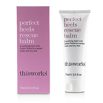 Perfect heels rescue balm 233565 75m/2.5oz