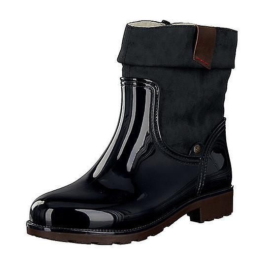 Rieker pvc pvc nisa ambor ankle boots womens blue U3khv