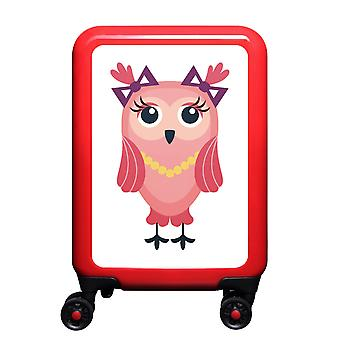 mytrolley Owl S, 4 wheels, 55 cm, 32 L, red