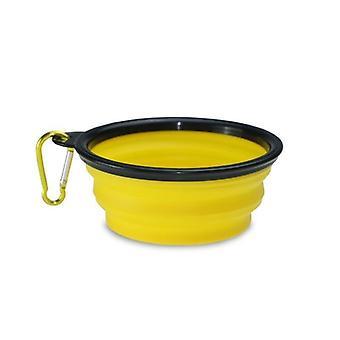 Cane pieghevole acqua-panorami giallo
