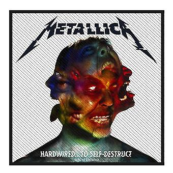 Harwired de Metallica Patch officiel d'autodestruction coton neuf 10,5 x 10 cm