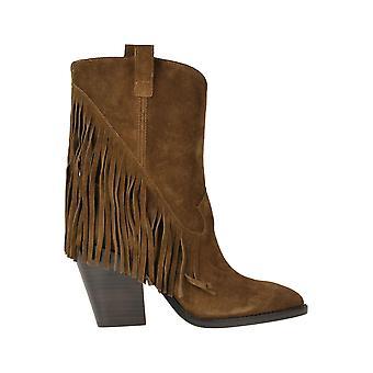 Ash Ezgl040096 Botas de tobillo de ante marrón para mujer