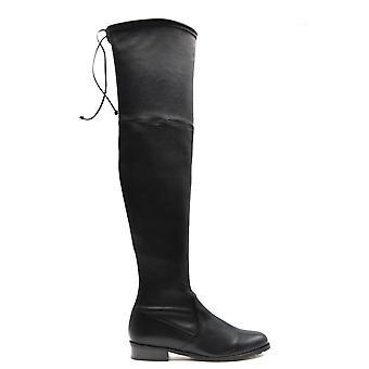 Stuart Weitzman Ezbc158023 Women's Black Leather Boots