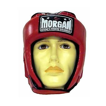 Morgan suuri platina avoin kasvot nahka pää vartija