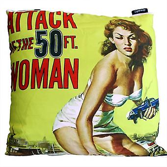 Cinema Gothic Cushion Cover - Attack of the 50ft Woman