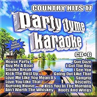 Party Tyme Karaoke - Country Hits 17 [CD] USA import