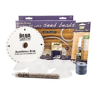 Beadsmith Kumihimo Braiding Kit For Seed Bead Designs