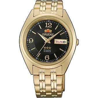 Orient 3 Star Watch FAB0000CB9 - Plated Stainless Steel Unisex Automatic Analogue