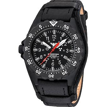 KHS - Men's Watch - Shooter MKII Automatic Leather Strap G-Pad- KHS. SH2AHC. R