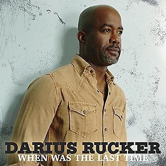 Rucker*Darius - When Was the Last Time [Vinyl] USA import