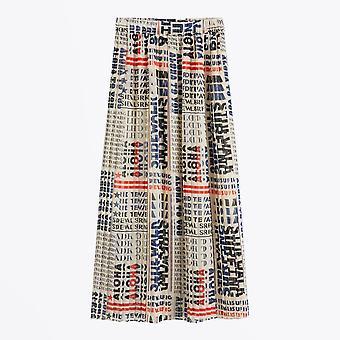 Scotch & Soda  - Pleated Chiffon Skirt - Multi