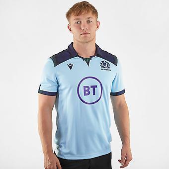 מקרון סקוטלנד משם חולצת רוגבי 2019 2020