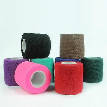 Disposable Self Adhesive Elastic Bandage For Handle With Tube Tightening Of