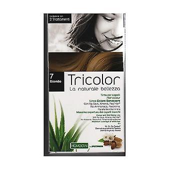 Tricolor hair color - Blond 7 80 ml