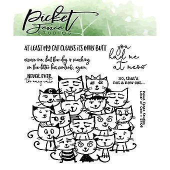 Picket Fence Studios Pentue Kissojen Selkeä Postimerkit